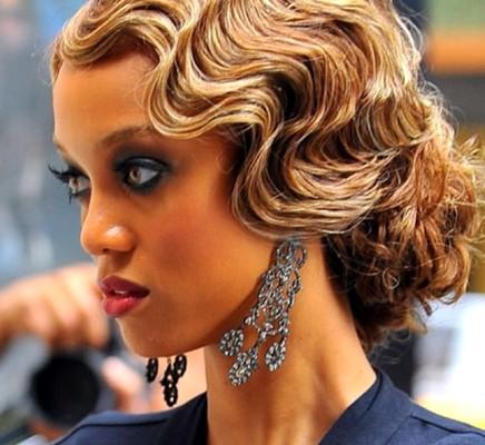 Model potongan rambut wanita finger wave