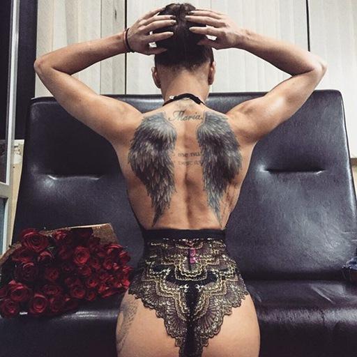 Fitness Tattoo model ELENA bi88888