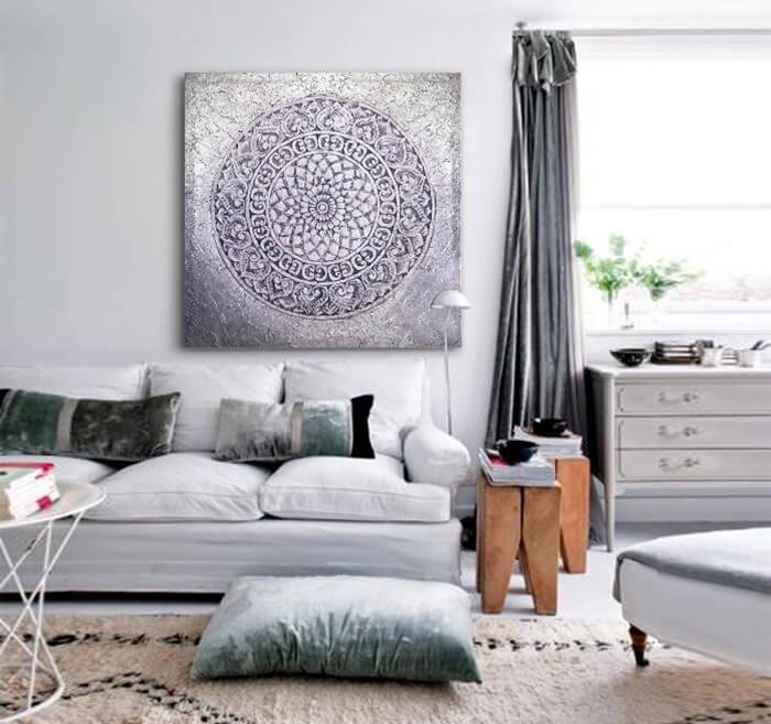Sensaciones de hogar cuadros decorativos online - Cuadros abstractos para salon ...
