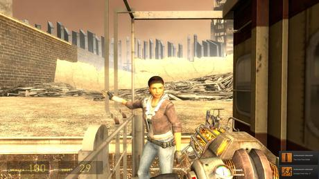 Half Life 2 Episode 1 PC Gameplay Screenshot