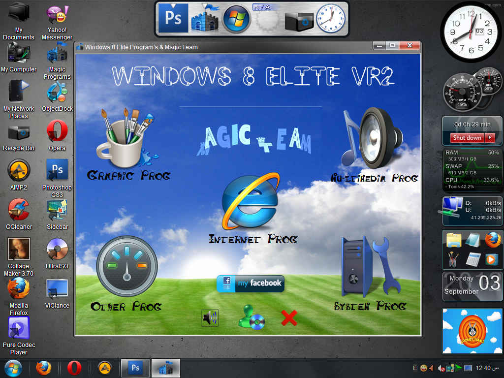 Windows XP 8 Elite Edition