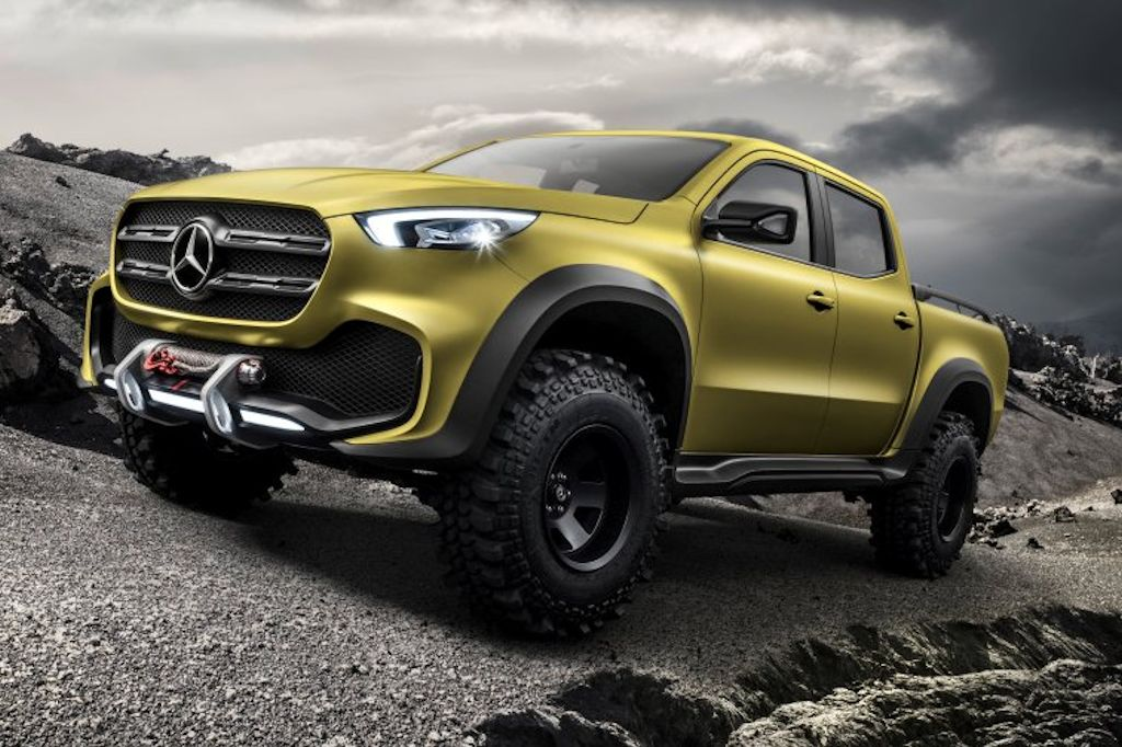 Mercedes benz 39 s concept x class is a vindication that the for Is a mercedes benz a good car