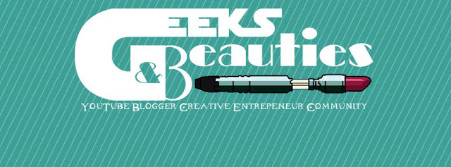 Geeks and Beauties logo by barbies beauty bits