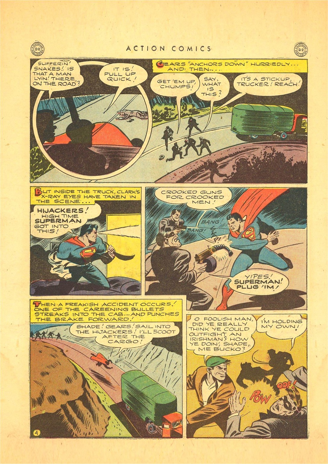 Read online Action Comics (1938) comic -  Issue #87 - 5