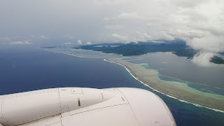 Nice view when approaching Pohnpei