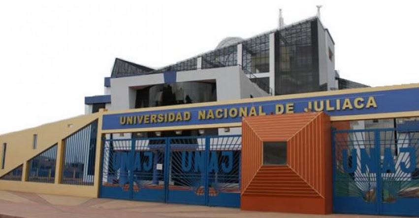 Docentes y estudiantes son premiados por la Universidad Nacional de Juliaca - UNAJ