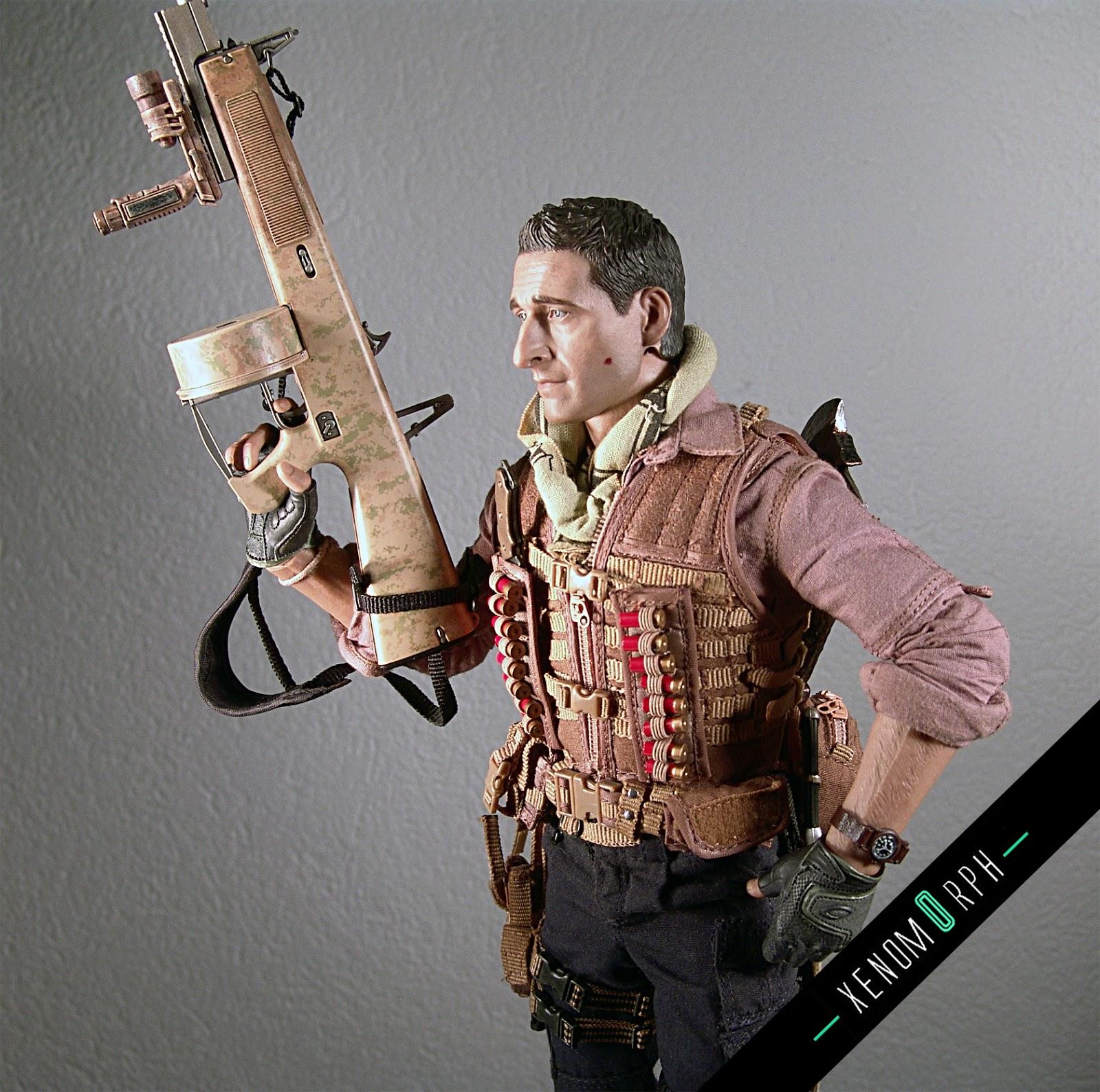 Predators - Royce (Adrien Brody) 12 figure (loose) - Hot Toys