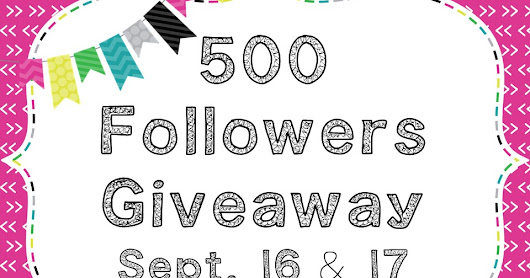 Another 500 Giveaway Surprise!!!