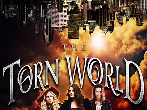 The Torn World Release! Win this series in paperback!