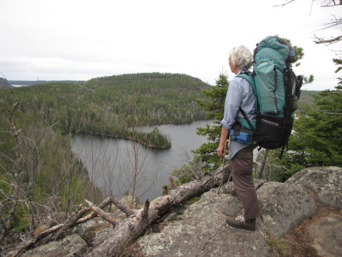 Mountain Lake, North Country Trail, Border Route Trail