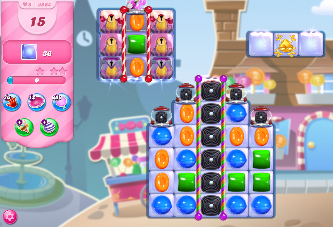 Candy Crush Saga level 4564