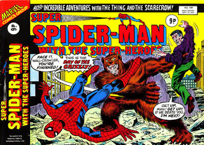 Super Spider-Man with the Super-Heroes #188, the Grizzly
