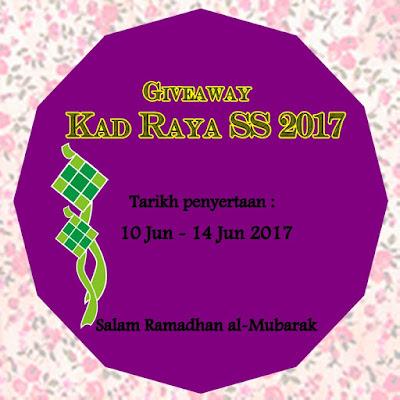 http://syeedasaniey.blogspot.my/2017/06/giveaway-kad-raya-ss-2017.html