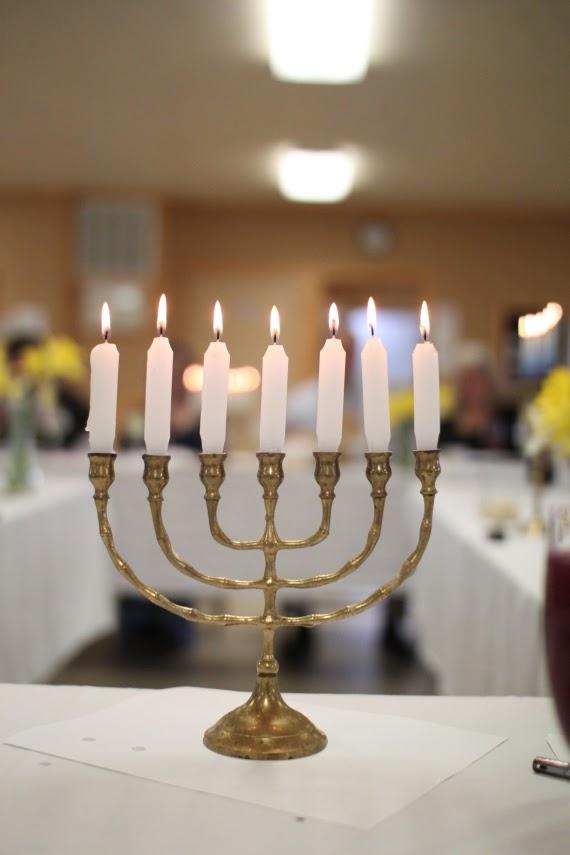 Menorah at Passover | Land of Honey