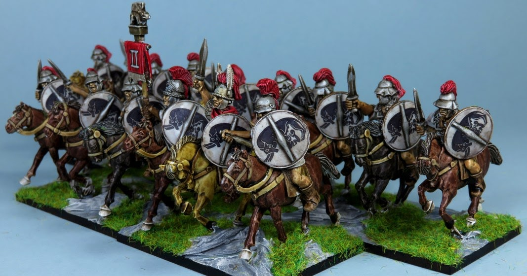 Zakgallery Painted 28mm Republican Roman Cavalry