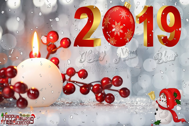 New Year 2019 Colourful Desktop Background images