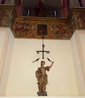 Réplica de la Cruz de Begastri.