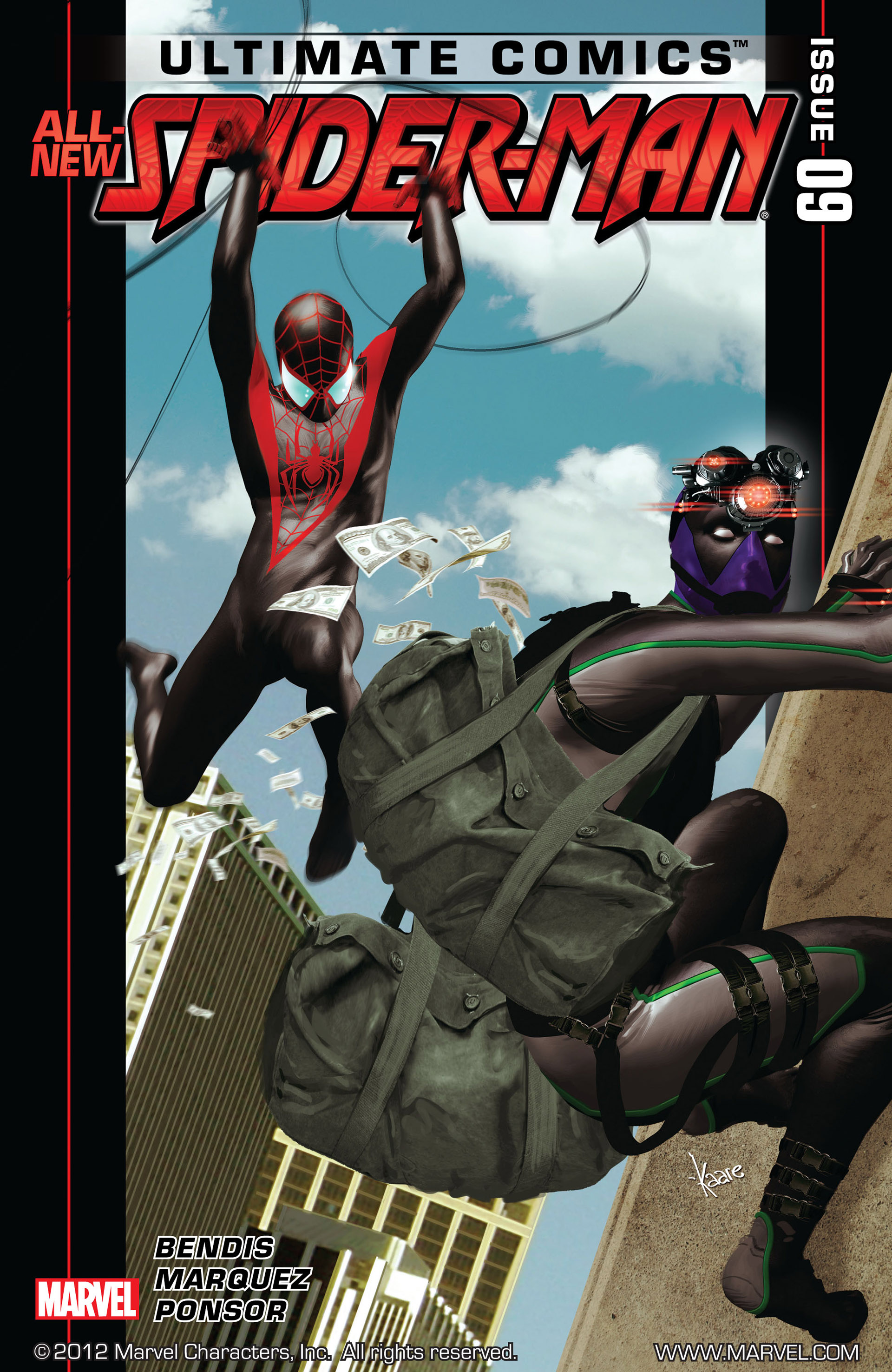Read online Ultimate Comics Spider-Man (2011) comic -  Issue #9 - 1