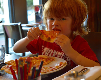 Family Dining at Fratello's, Jesmond - A review - Kids Pizza