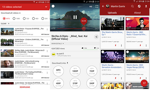 أفضل التطبيقات المجانية لتحميل الفيديوات لهواتف الأندرويد