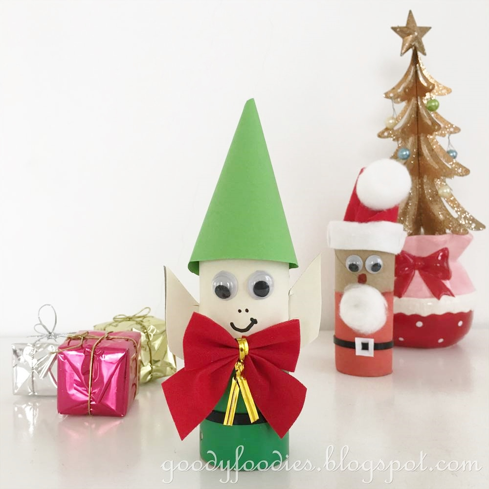 Goodyfoodies christmas crafts for kids elf santa 39 s for Elf crafts for kids