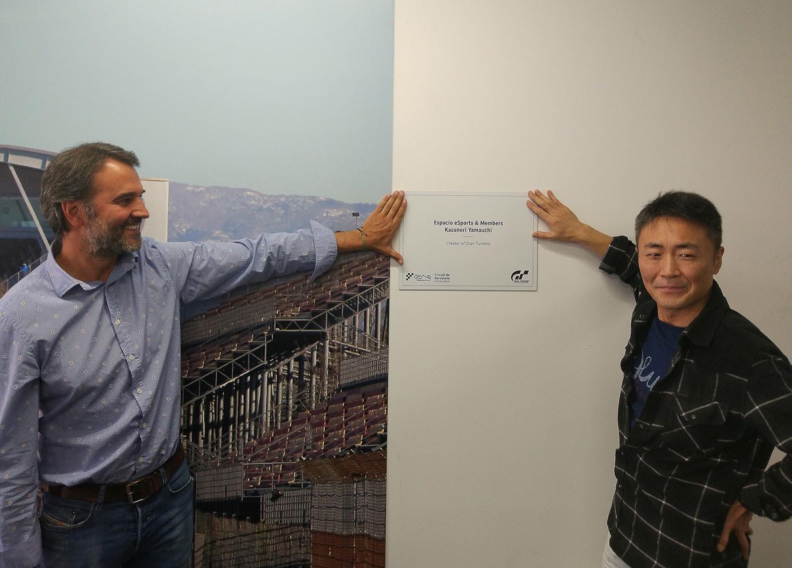 Kazunori Yamauchi nos muestra su pasión por el motor en la Barcelona Games World
