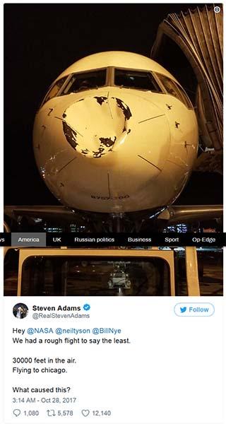 Adams pidió la ayuda de varios físicos en las redes sociales