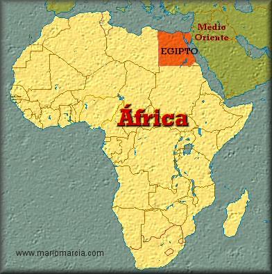 mapa mundo egipto La Biblioteca: