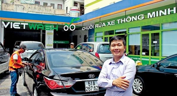 TGĐ VietWash: Dịch vụ rửa xe từ bài học của Starbucks