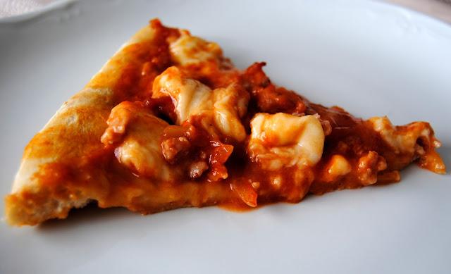 Pizza de Pollo y Mozzarella