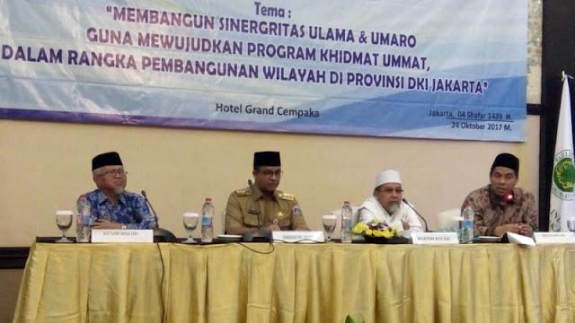 Anies Ditagih Janji Bangun Gedung MUI DKI Jakarta, Ini Jawabanya..