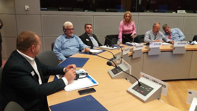 Ο Φάνης Στεφανόπουλος στις Βρυξέλλες ενημέρωσε τους Ευρωπαίους αξιωματούχους για τις φυσικές καταστροφές στην Πελοπόννησο