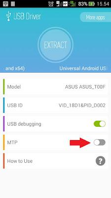 cara menggunakan USB Driver for Android