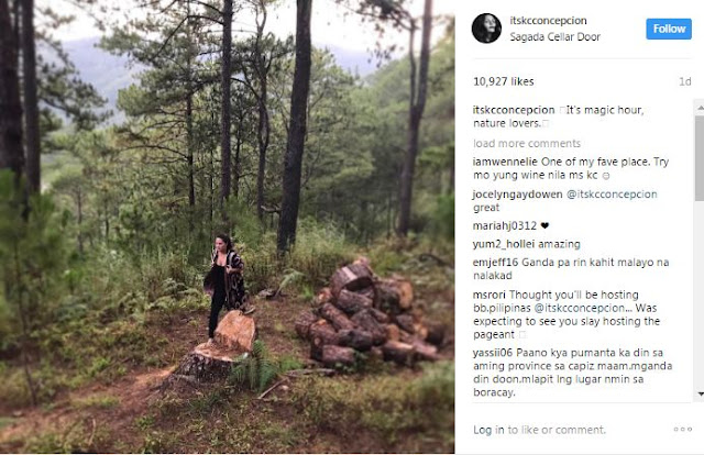 KC Concepcion Finds New Thrill As She Swam In The Cold Waters Of Sagada! Better Check This Out!