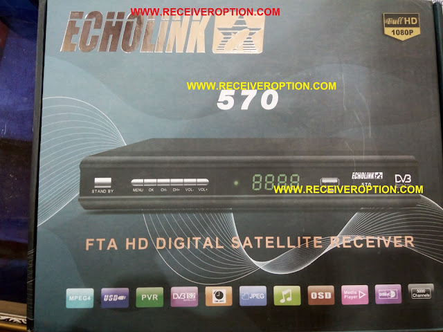 ECHOLINK 570 HD RECEIVER BISS KEY OPTION
