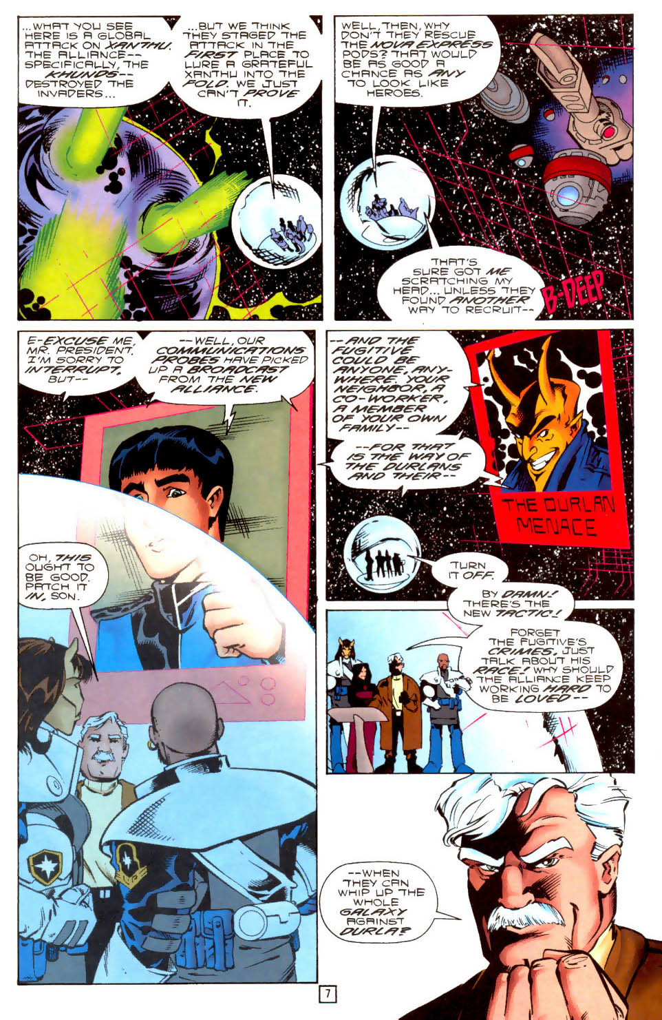 Legion of Super-Heroes (1989) 104 Page 7