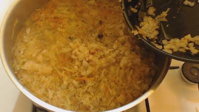 gotowanie kapuśniaka