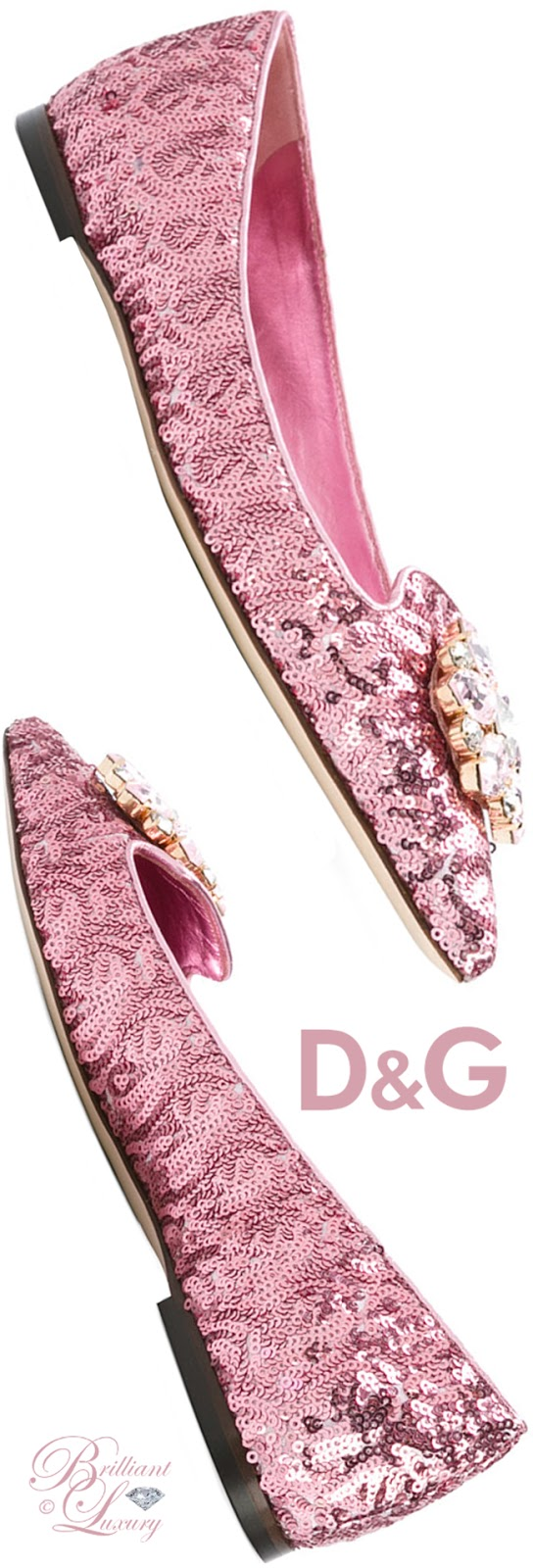 Brilliant Luxury ♦ Dolce & Gabbana Bellucci Slippers