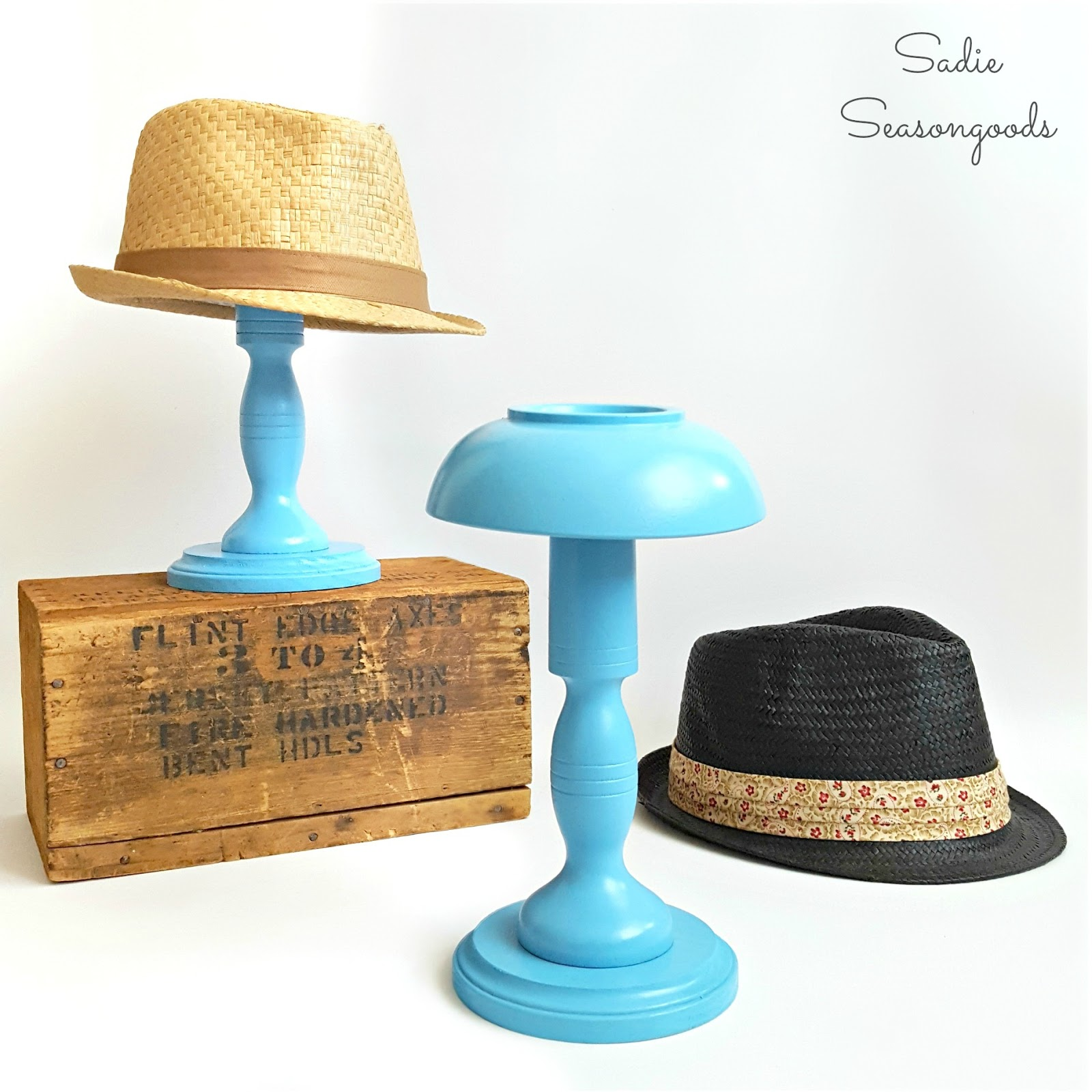 Hat Stand Designs : Homemade and handcrafted no redo it yourself