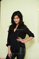 Shruti Haasan Looks Stunning trendy cool in Black relaxed Shirt and Tight Leather Pants ~ .com Exclusive Pics 018.jpg