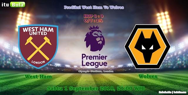 Prediksi West Ham Vs Wolves - ituBola
