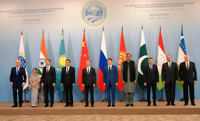 Sushma Swaraj Attends Shanghai Cooperation Organisation Summit