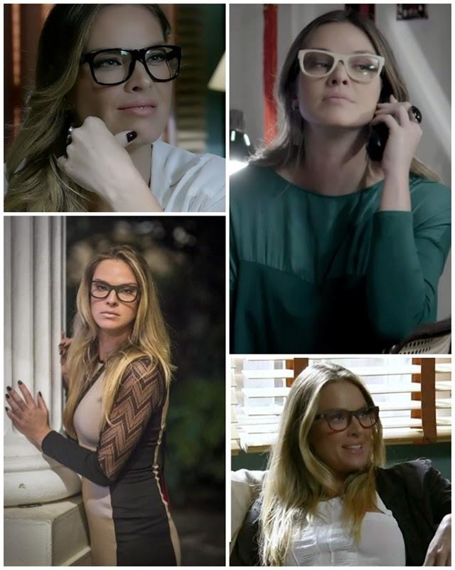 98616deb5 Para quem não sabe os óculos usados pela atriz são da sua marca LB -  Leticia Birkheuer Eyewear e já estão a venda em óticas do país.