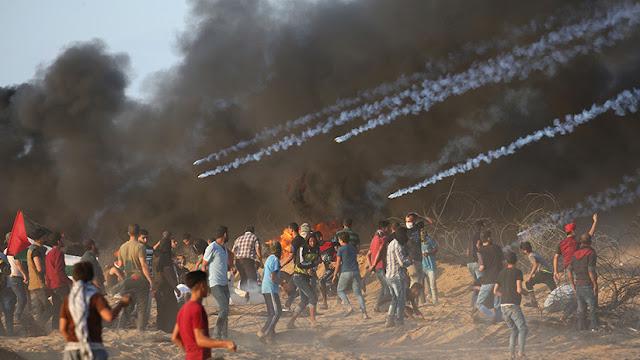 Fuerzas isralíes matan a seis palestinos y hieren a más de 110 durante una protesta en Gaza