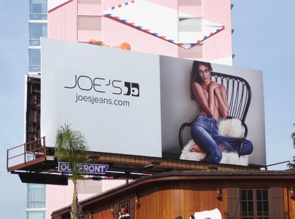 Joes Jeans Spring 2017 billboard