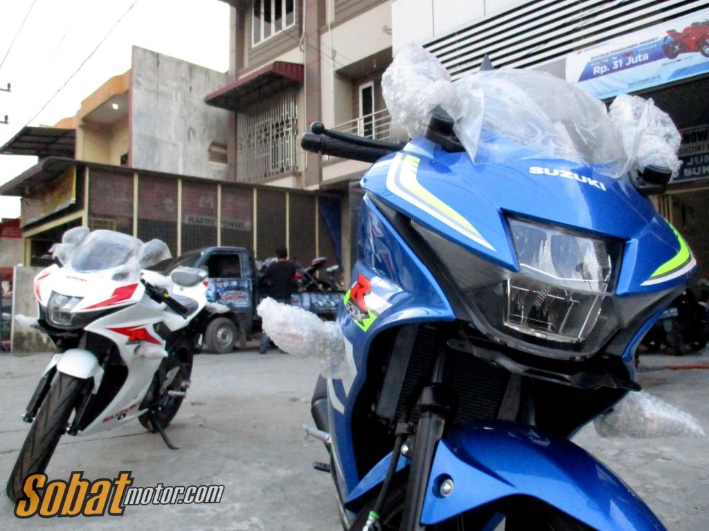 Sudah tiba dikota Medan, ini harga normal Suzuki GSX-R150 !