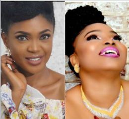 Halima Abubakar thanks Omoni Oboli for constantly staying up late to pray for her