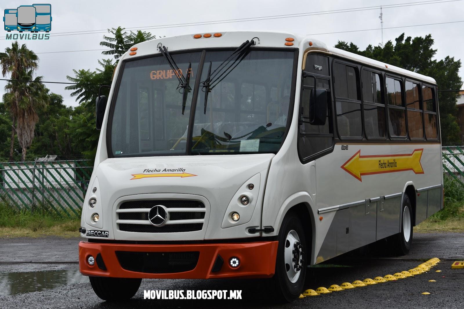 movilbus mercedes benz autobuses entrega 354 unidades a flecha amarilla. Black Bedroom Furniture Sets. Home Design Ideas