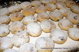 печенье готовое на противне