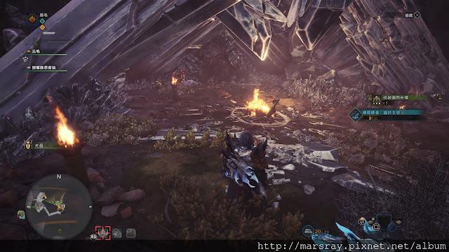 [PS4] 魔物獵人世界MHW-龍結晶之地-貓咪隨從道具奇面族住所支線攻略   折翼之流